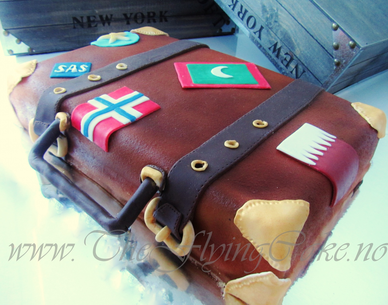 Koffert kake