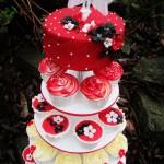 Kjælighetscupcake bryllup